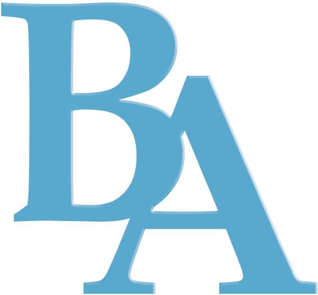 Schools BA Letters Color